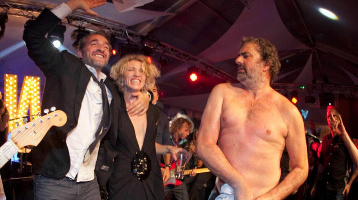 VIDEO Jean Dujardin et Alexandra Lamy s'éclatent à Cannes