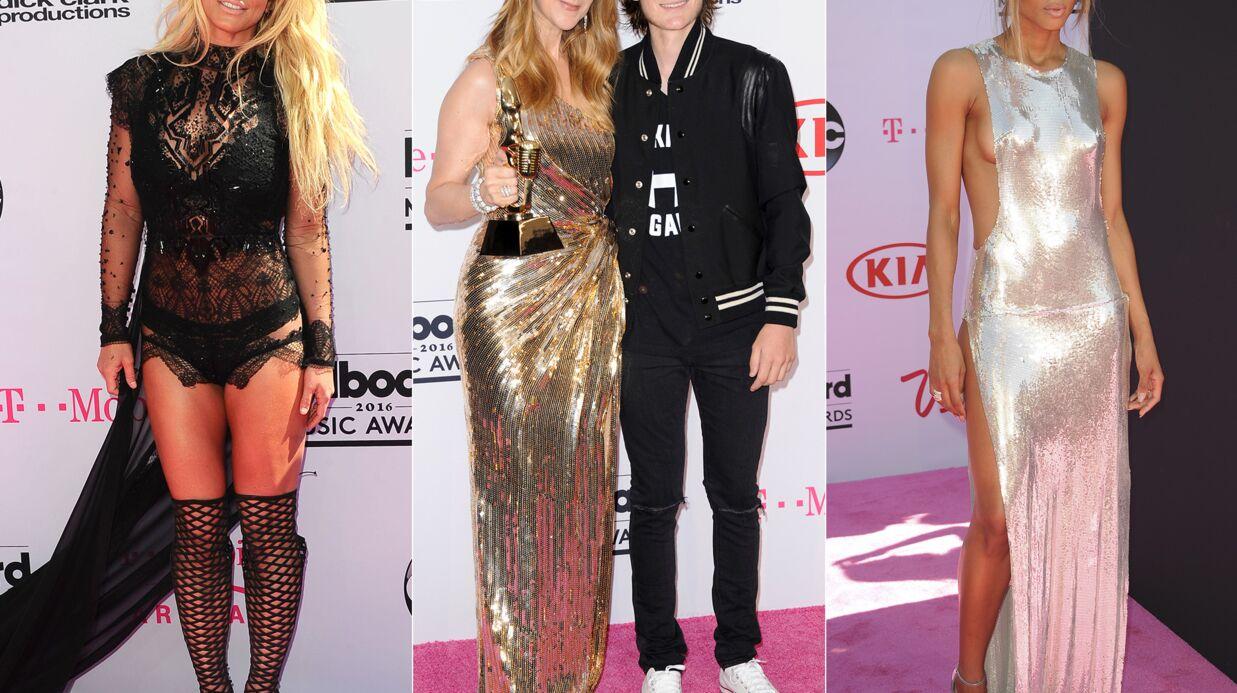 PHOTOS Billboards 2016: Céline Dion émue avec René-Charles, Ciara et Britney Spears hyper sexy