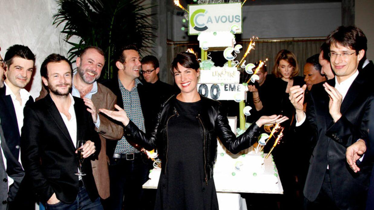 PHOTOS Alessandra Sublet organise une fête pour la 500e de C à vous