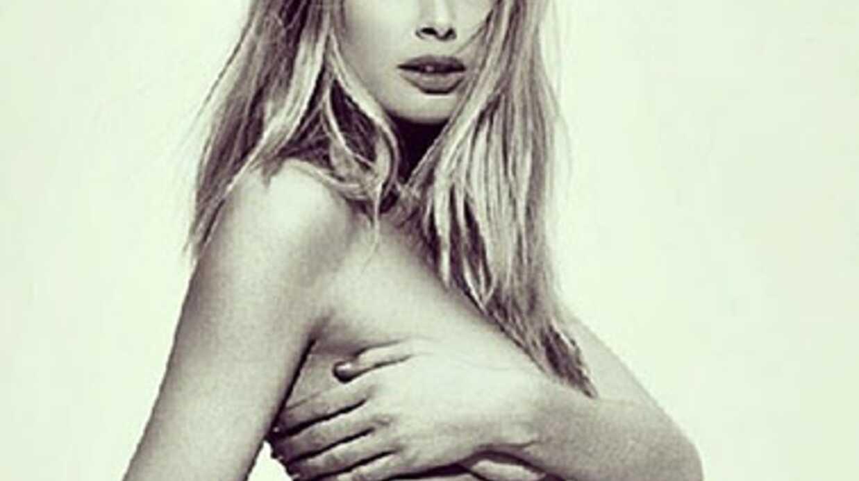 Doutzen Kroes révèle le sexe de son bébé sur Instagram
