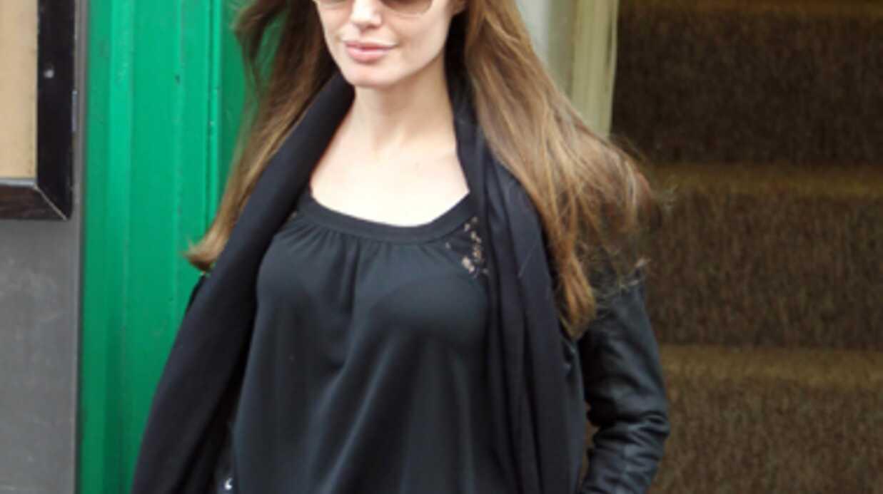 Angelina Jolie heureuse d'être encore en vie