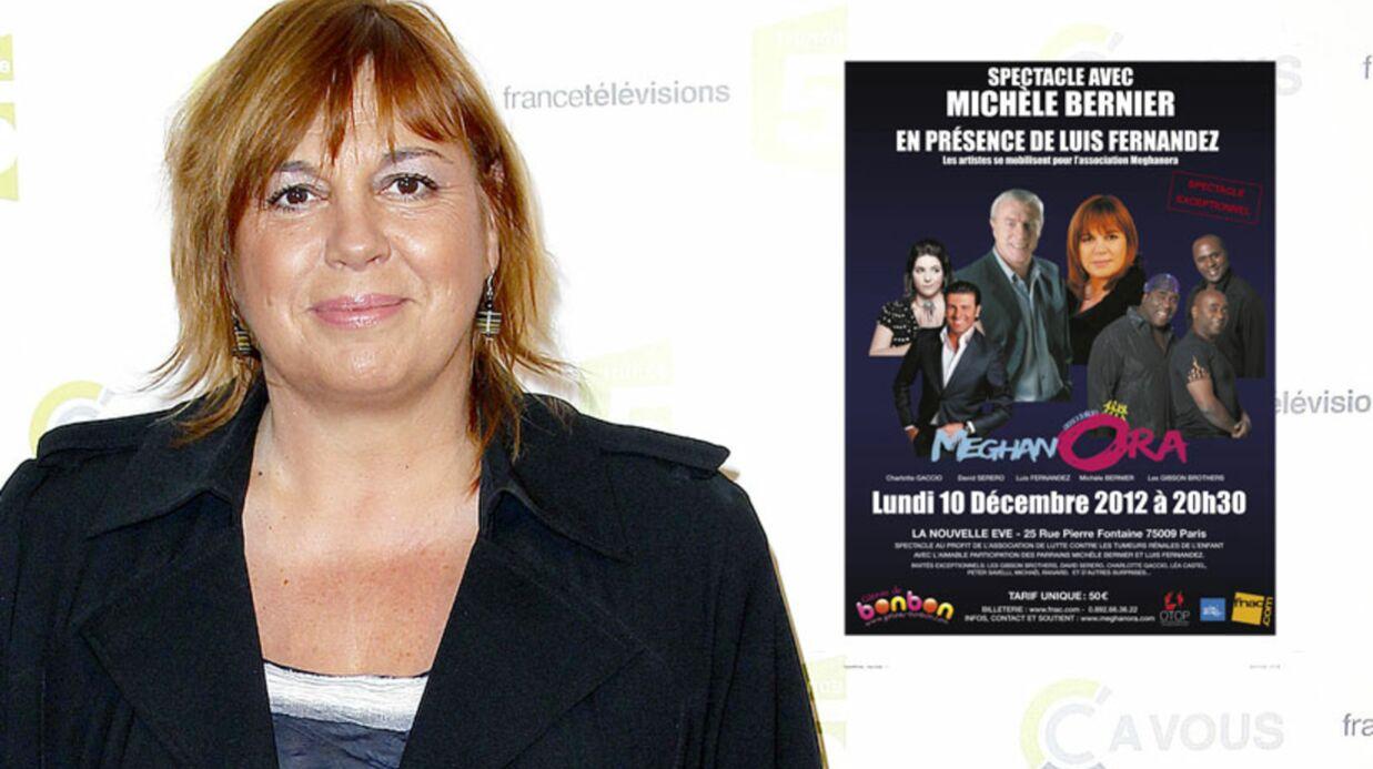Michèle Bernier au Cabaret pour la bonne cause