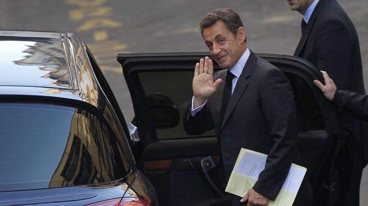 Nicolas Sarkozy: visite éclair à sa fille Giulia