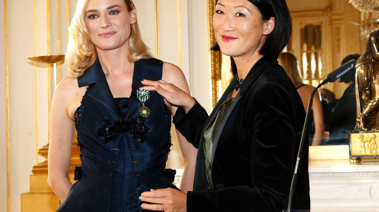 PHOTOS Diane Kruger a reçu la médaille d'officier des Arts et des Lettres