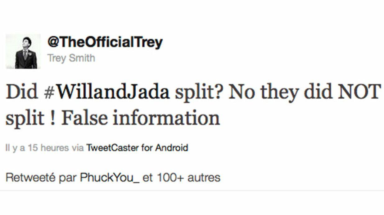 Will Smith et Jada Pinkett démentent avoir rompu