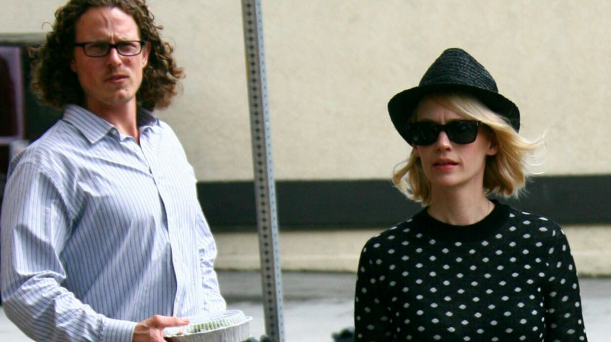 January Jones (Mad Men) sort avec le réali­sa­teur de son dernier film