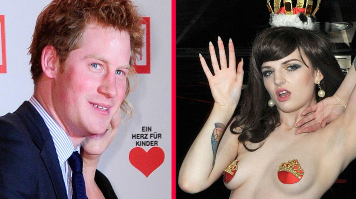 Le prince Harry soutenu par la cousine strip-teaseuse de Kate Middleton