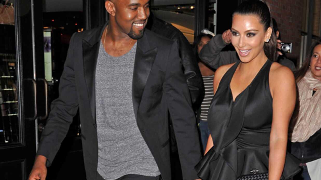 PHOTOS Kim Kardashian et Kanye West officialisent enfin