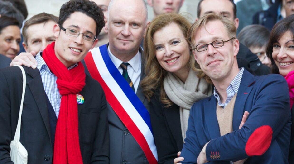 DIAPO Valérie Trierweiler fête le vote du mariage pour tous