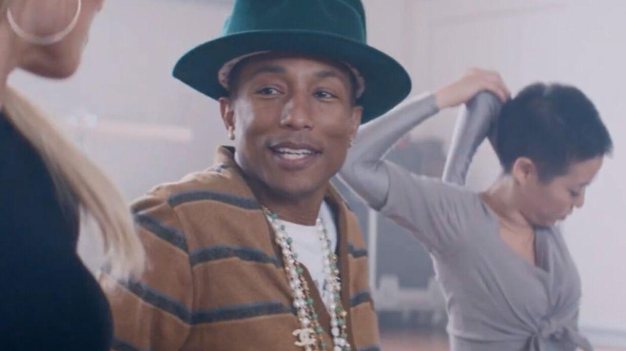 VIDEO Pharrell Williams: Marilyn Monroe, son nouveau clip réjouissant et coloré
