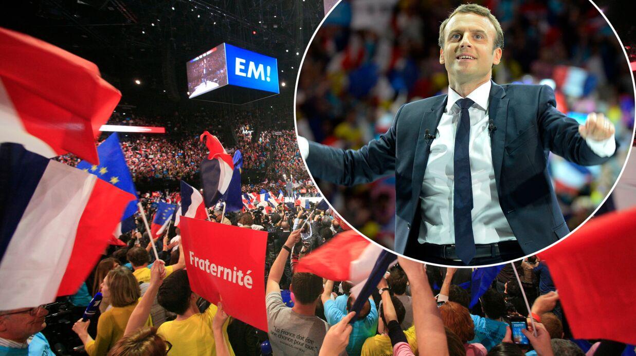 Transporté de joie par la victoire d'Emmanuel Macron, un supporter danse et c'est TRÈS drôle