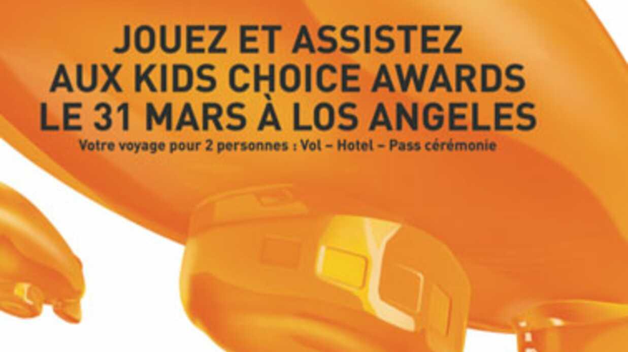 Assistez aux Kids Choice Awards le 31 mars à Los Angeles!