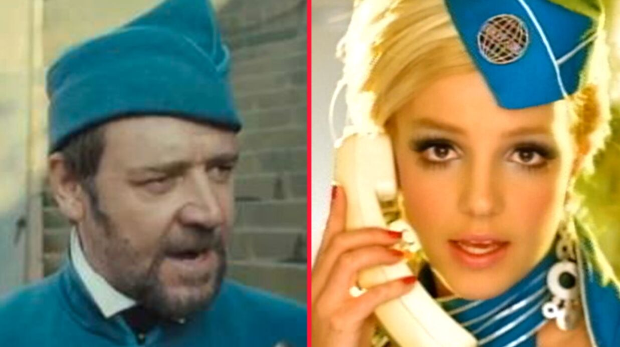 PHOTO Brit­ney Spears se moque de Russell Crowe