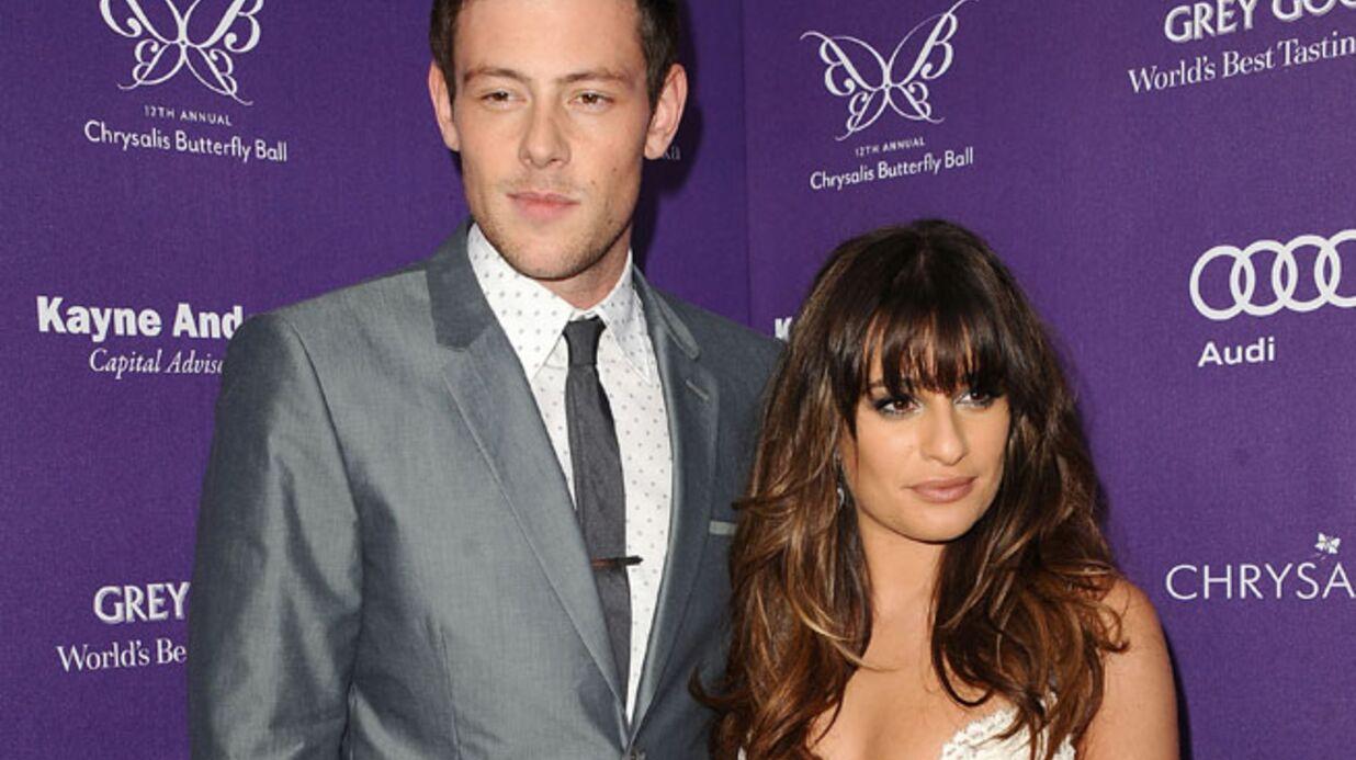 Lea Michele: sa déclaration d'amour à Cory Monteith avant le drame