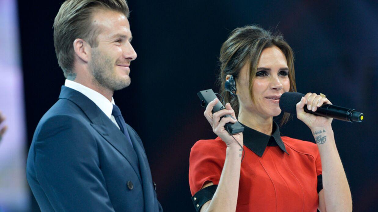 PHOTO Victoria Beckham sait rire: la preuve!