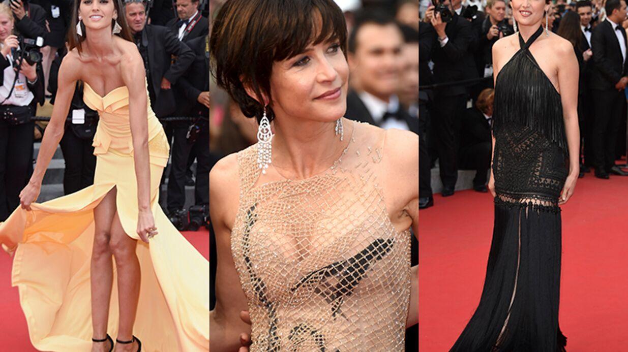 DIAPO Cannes 2015: Laetitia Casta et Sophie Marceau sexy, Michelle Rodriguez dévoile sa poitrine