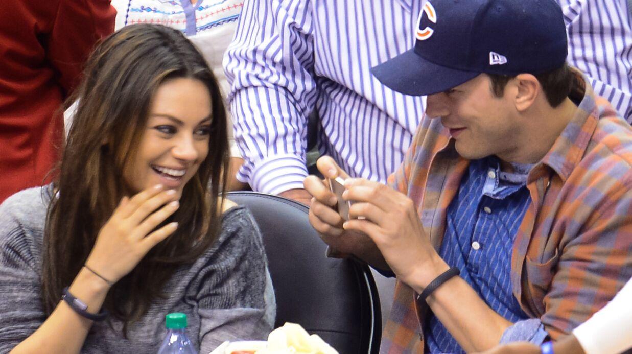 Mila Kunis et Ashton Kutcher attendent leur premier enfant