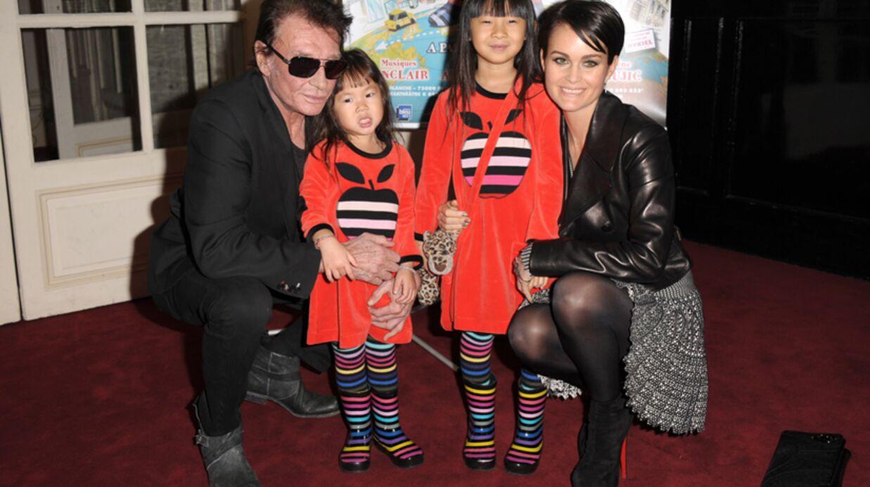 Johnny Hallyday: ses filles font le show pour sa dernière au théâtre