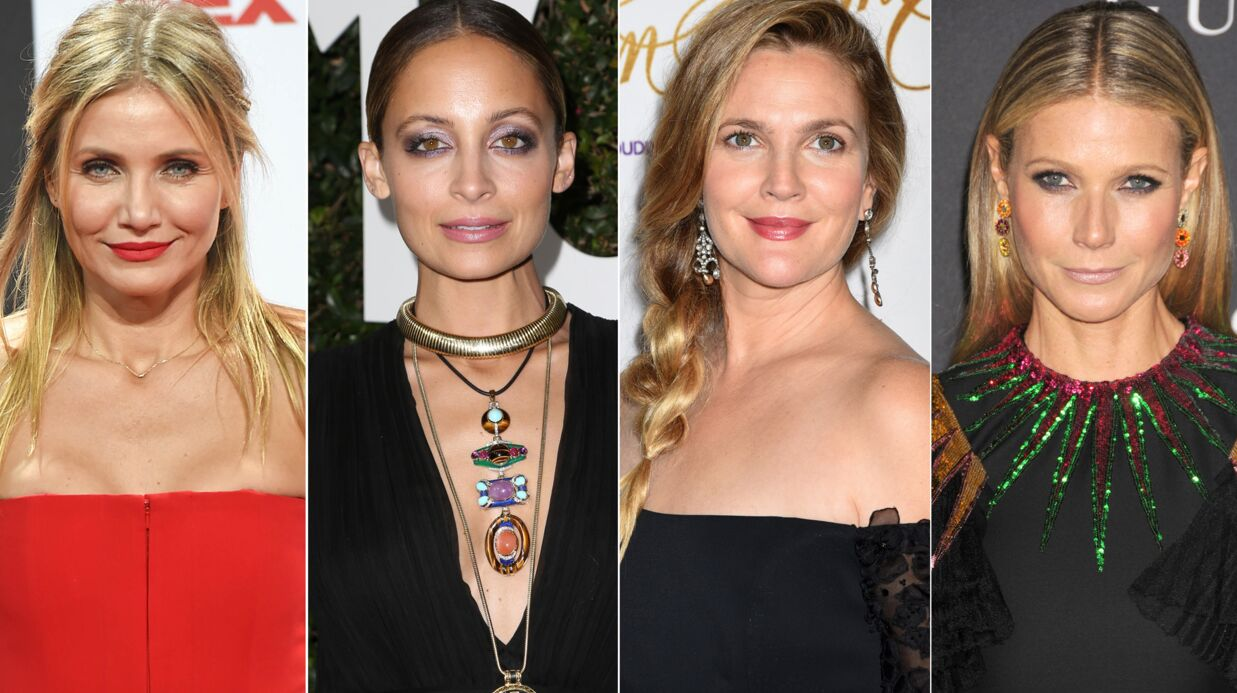 PHOTO Drew Barry­more, Came­ron Diaz, Nicole Richie, Gwyneth Paltrow posent ensemble sans maquillage