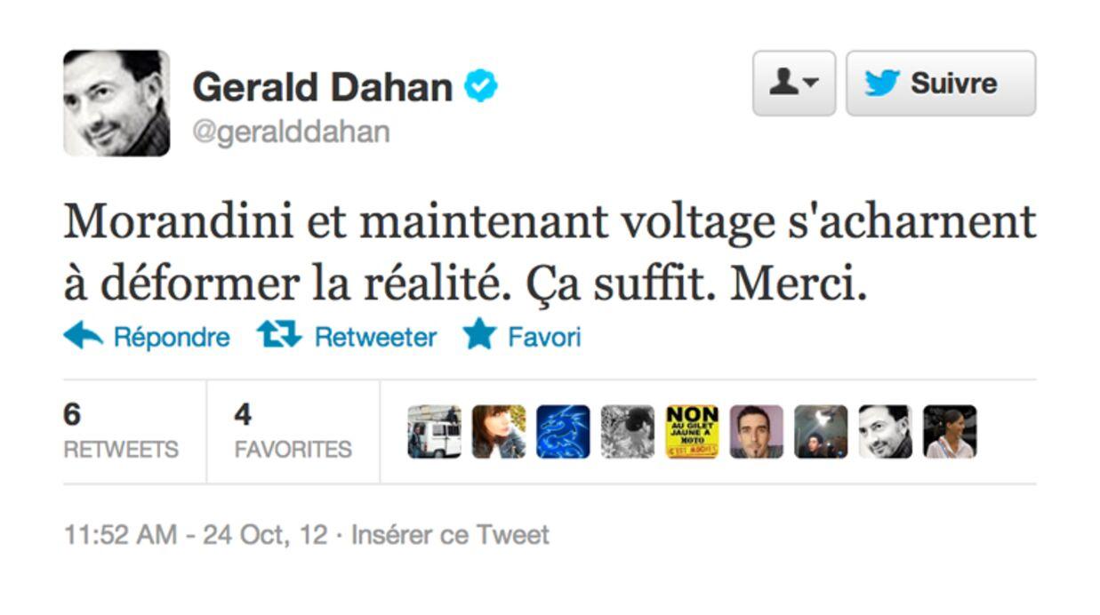 Gérald Dahan aurait fait annoncer sa mort par la radio Voltage