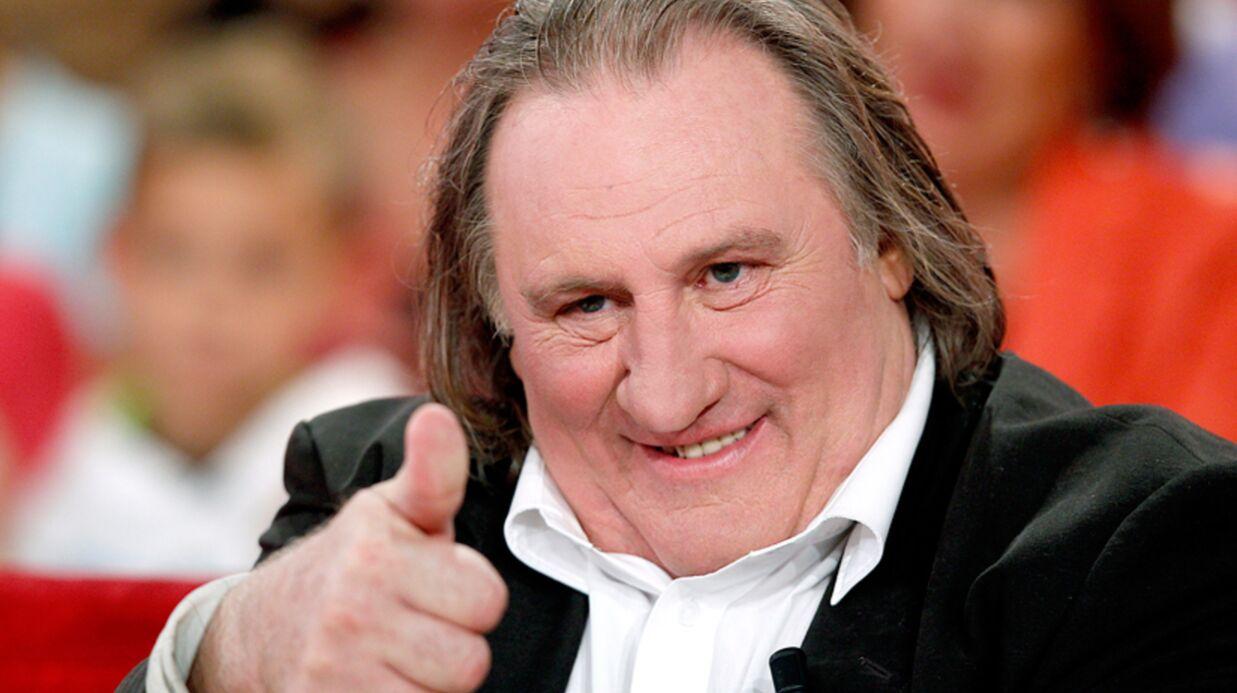 Gérard Depardieu échappe à la guerre des voisins à Trouville