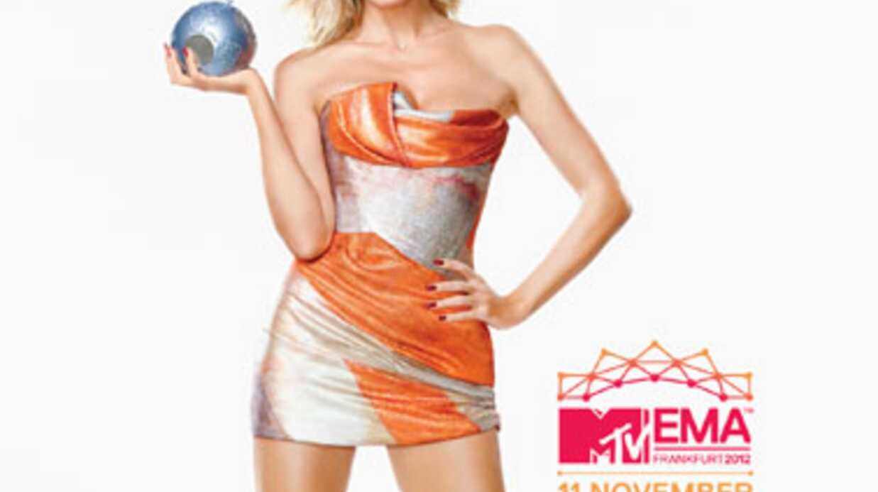 MTV EMA 2012 Heidi Klum: la maîtresse de cérémonie se confie