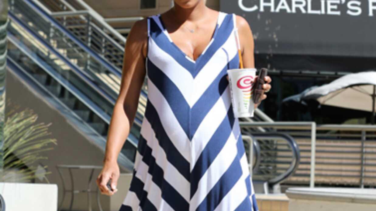 PHOTOS Halle Berry très enceinte: une sortie remarquée