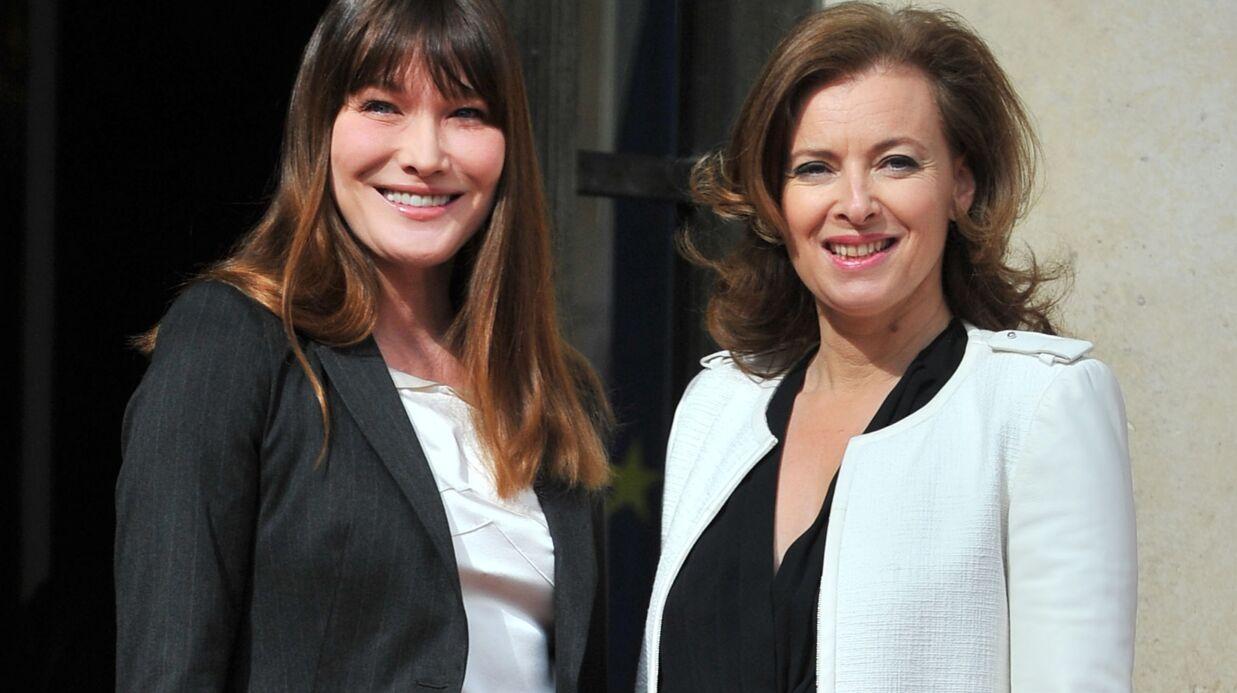 Carla Bruni a été très touchée par le livre de Valérie Trierweiler