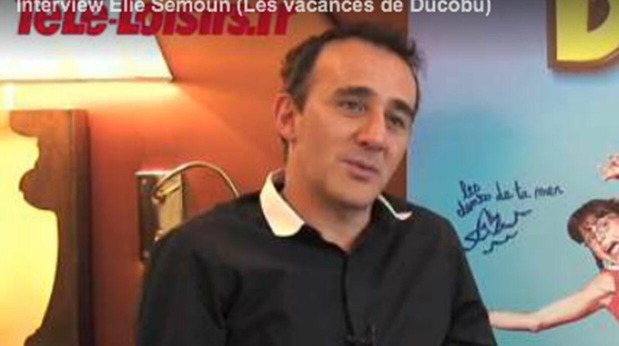 VIDEO Elie Semoun déçu par le cinéma français