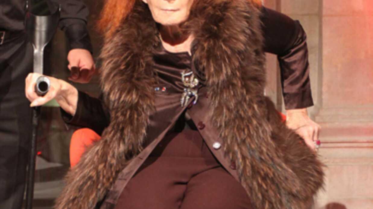 Sonia Rykiel est atteinte de la maladie de Parkinson