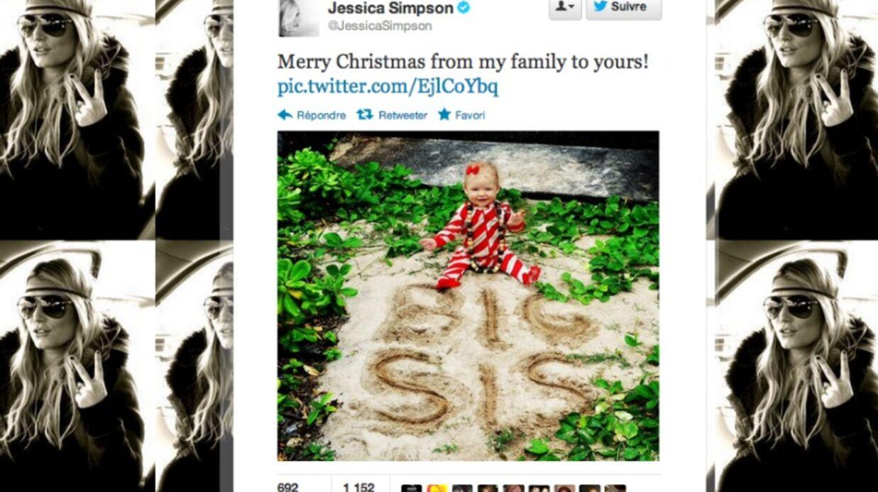 Jessica Simpson confirme sa grossesse