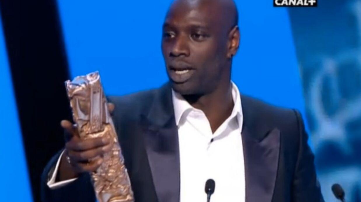 Intouchables: Omar Sy reçoit le César du meilleur acteur