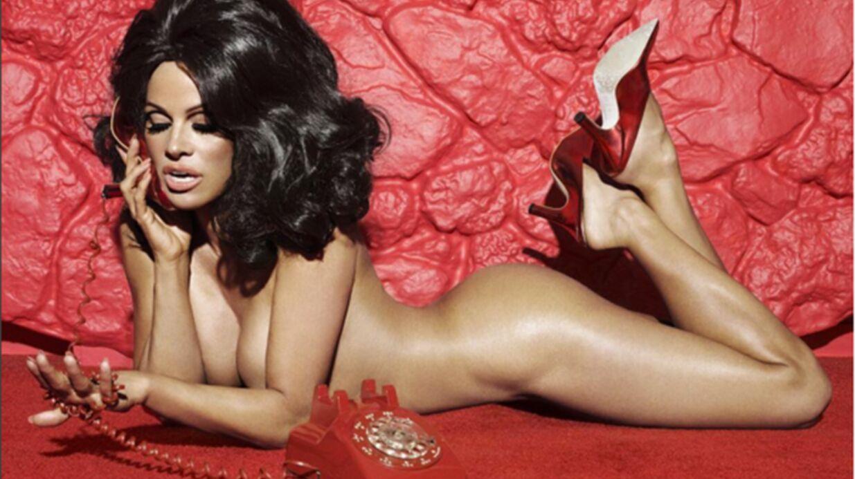 PHOTOS Pamela Anderson totalement nue pour promouvoir des chaussures