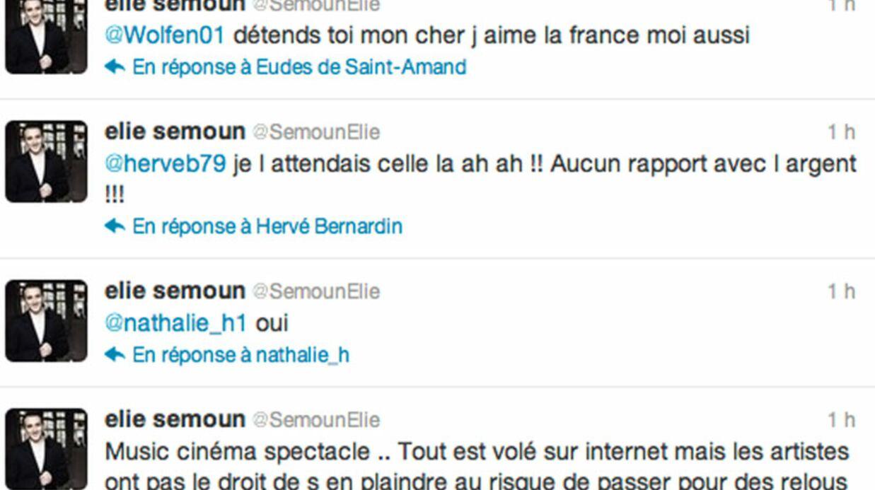Elie Semoun pris à partie sur Twitter après un clash avec une fan