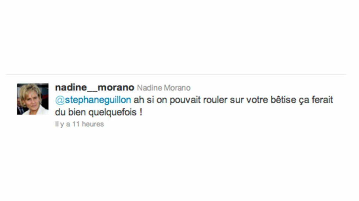 Au cœur d'une polémique, Nadine Morano s'en prend à Stéphane Guillon