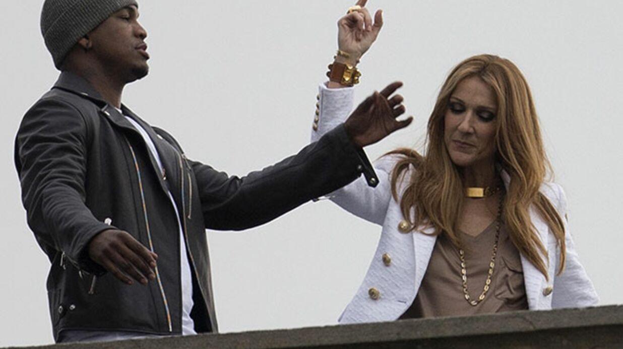 DIAPO Céline Dion s'envole avec Ne-Yo