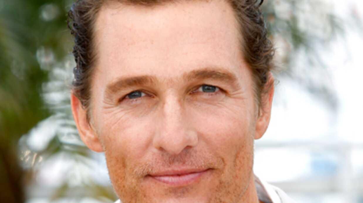PHOTO Matthew McConaughey a énormément maigri