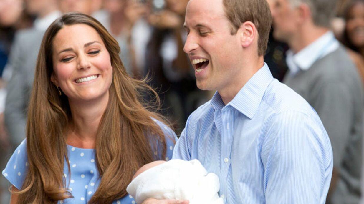 Kate et William expliquent pourquoi leur fils s'appelle George Alexander Louis