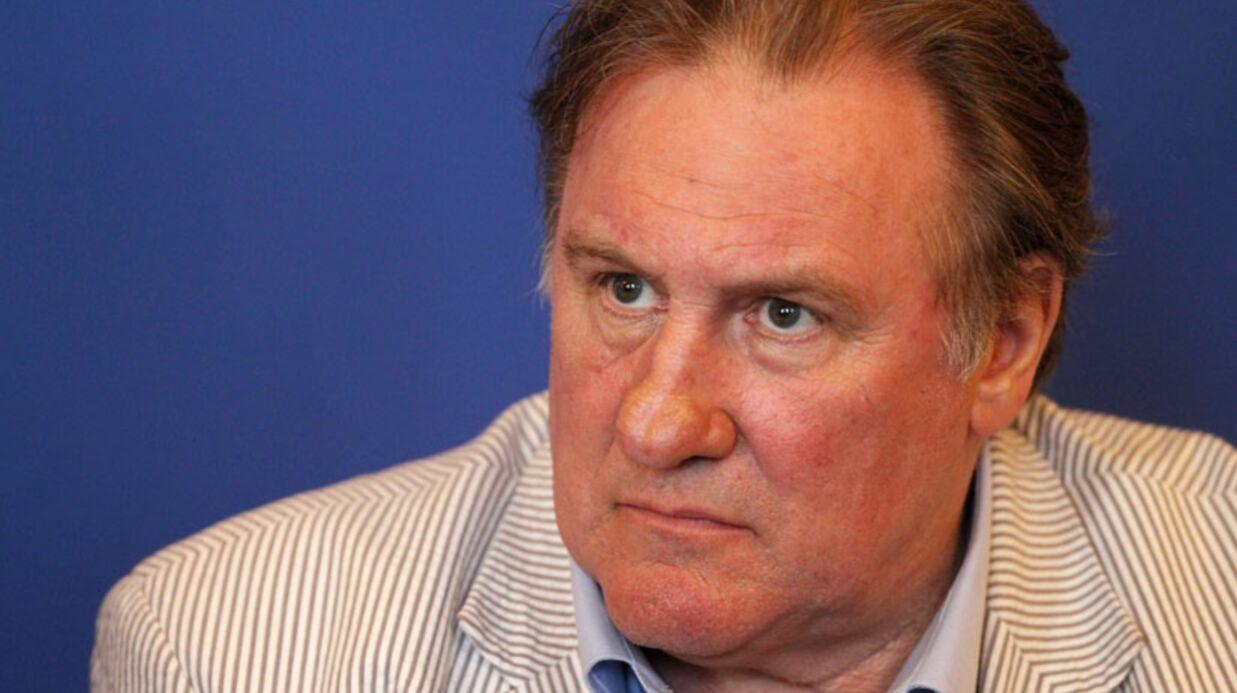 Gérard Depardieu insulte violemment une journaliste russe