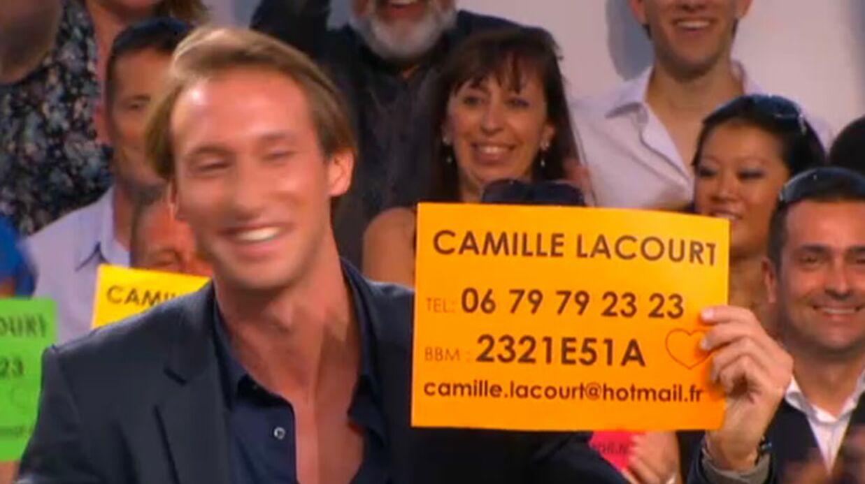 VIDEO Le numéro de Camille Lacourt dévoilé en direct
