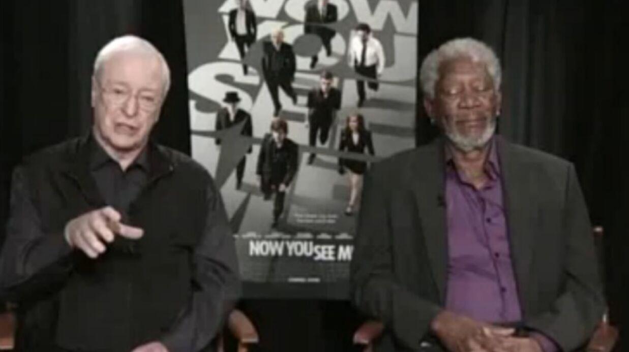 Morgan Freeman s'endort en pleine interview