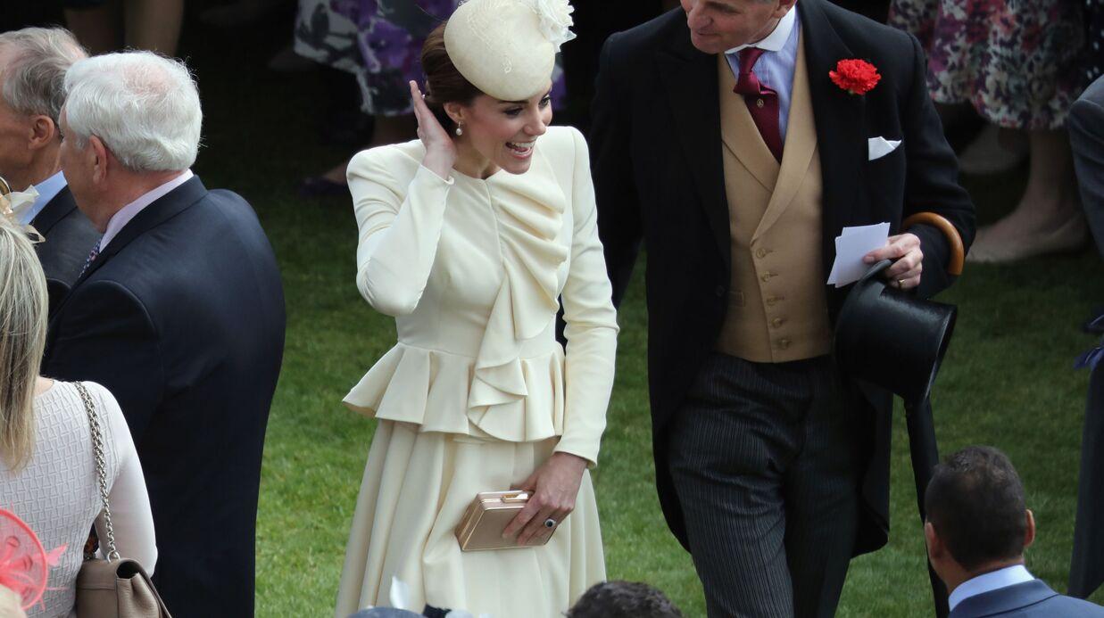 PHOTOS Kate Middleton sublime pour sa première garden party à Buckingham