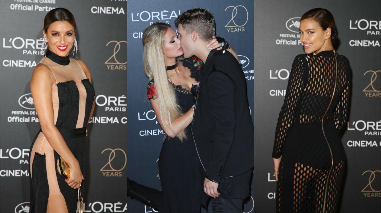 PHOTOS Cannes 2017: Eva Longoria sans culotte sous sa robe sexy, Paris Hilton amoureuse