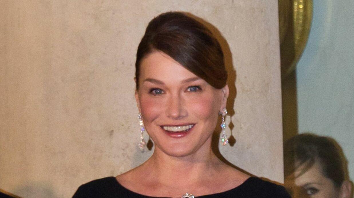 Carla Bruni parle de ses kilos en trop