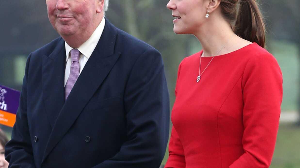 PHOTOS Kate Middleton charmée par la révérence d'une petite fille
