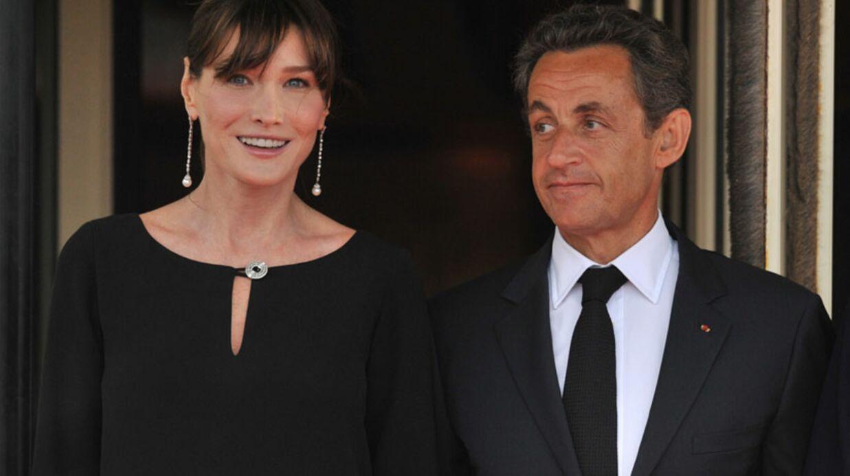 Carla Bruni conseille à Valérie Trierweiler d'épouser François Hollande