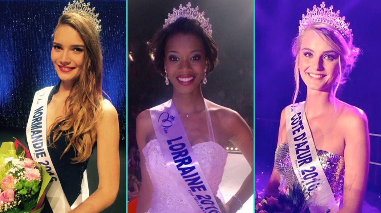 DIAPO Miss France 2017: voici les 30 candidates qui rêvent de succéder à Iris Mittenaere