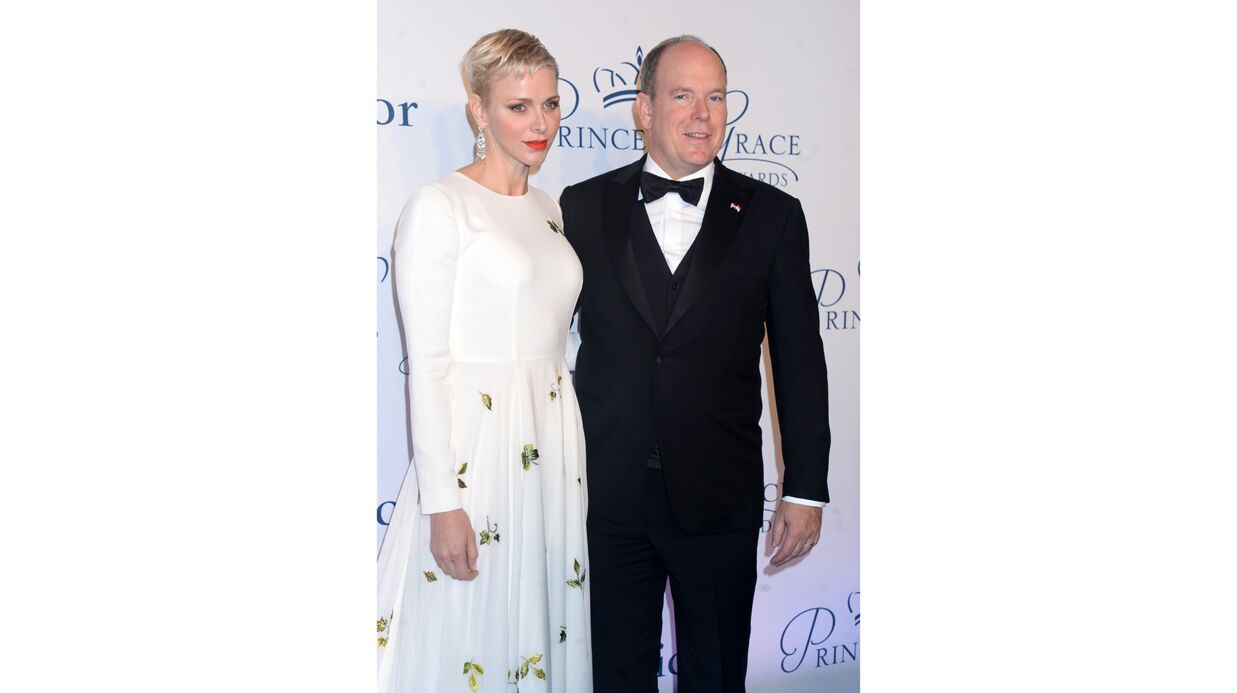 PHOTOS Char­lène de Monaco sublime aux Prin­cess Grace Awards