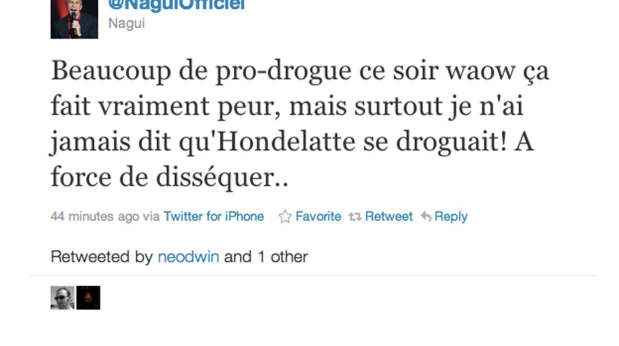 Nagui et Laurent Ruquier se moquent de Christophe Hondelatte sur Twitter