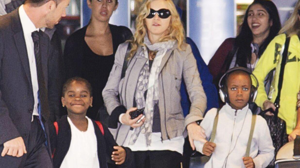 Madonna en vacances en famille à Saint-Tropez
